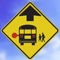 Illegal passing of School Buses