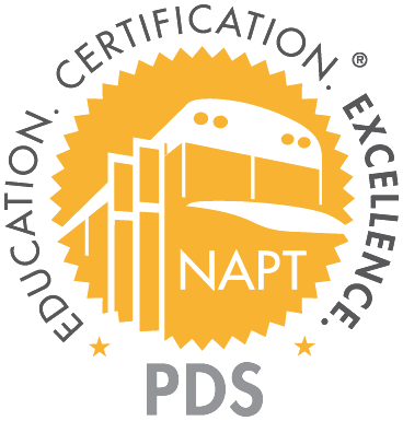 NAPT Certification seal