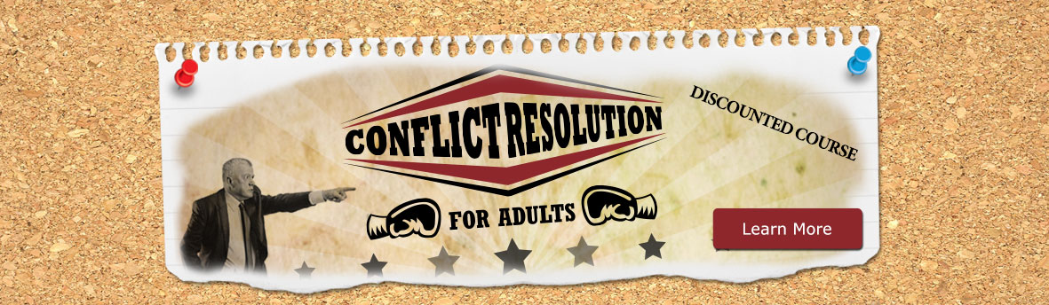 Conflict Resolution Discounted Online Course