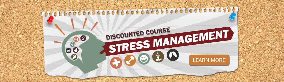 Stress Management Discounted Online Course