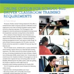Online Option for School Bus Driver Classroom Training Requirements
