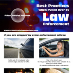 Best Practices when Pulled Over by Law Enforcement