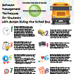 Behavior Management Techniques for Students with Autism Riding the School Bus