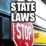 State Laws Passing School Buses