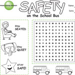 STS Coloring Activity 1: Safety