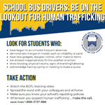 Be on the Lookout for Human Trafficking