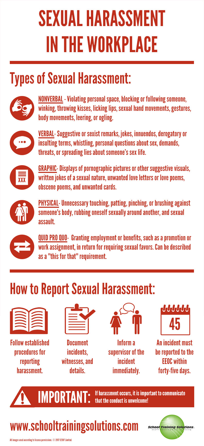 Sexual of definition harassment international