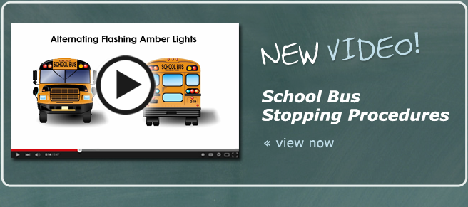 STS School Bus Stopping Procedures Video